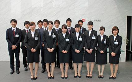 新卒新入社員 14名が入社しまし...